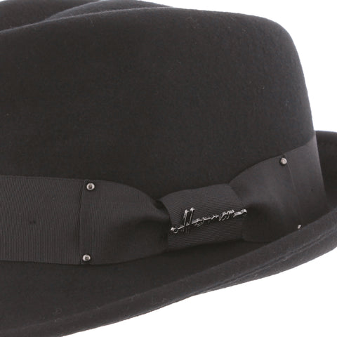Chapeau tribly noir Don Hawk Herman
