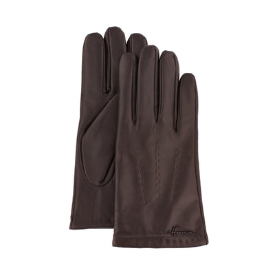 Herman Driver 001 brown leather glove