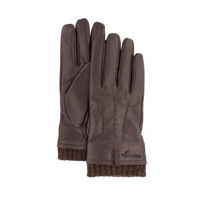 brown leather man's glove Driver 003 Herman