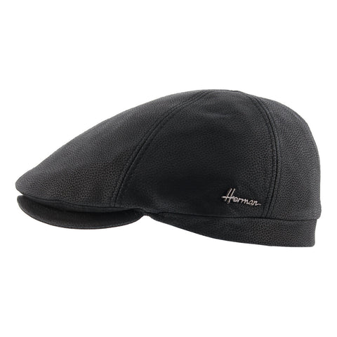 Black Leather Hat with Duke 6