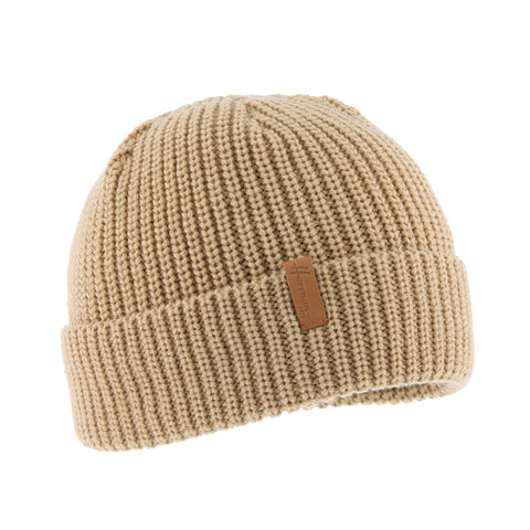 Bonnet enfant uni beige edmond 048 Herman