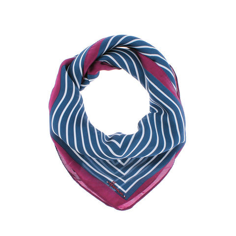 HAUSSMAN Adult scarf printed silk lined