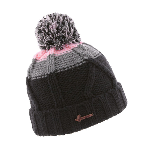 Bonnet enfant jaquard rose justin 8252 Herman