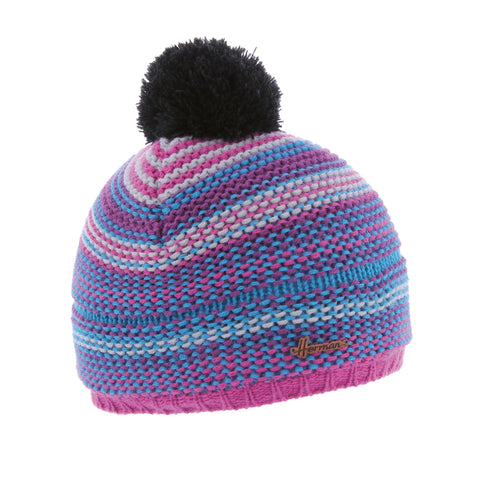 Bonnet enfant multicolore rose justin 8291 Herman
