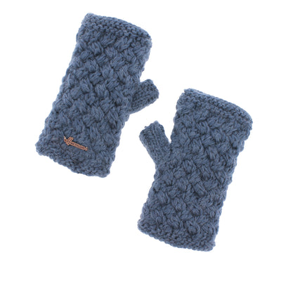 JUSTIN 8600 Plush lined knit mittens