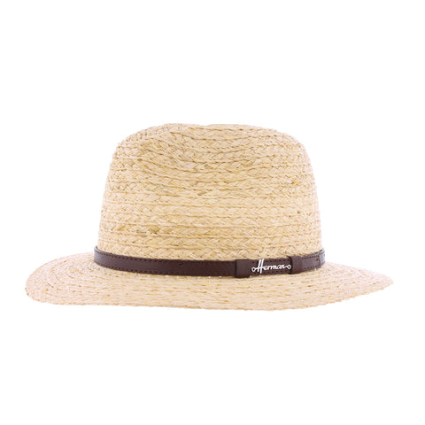 Herman Mac Scott - chapeau paille naturel