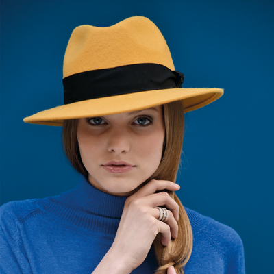 O GOLDWIN | Felt hat with tape