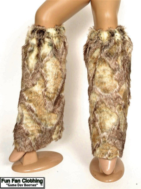 Elite Game Day Booties - Luxe Rabbit Faux Fur