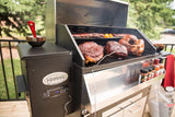 LG 800 Elite Wood Pellet smoker and grill