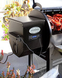 Louisiana Grills LG 1100 Pellet Hopper and digital display