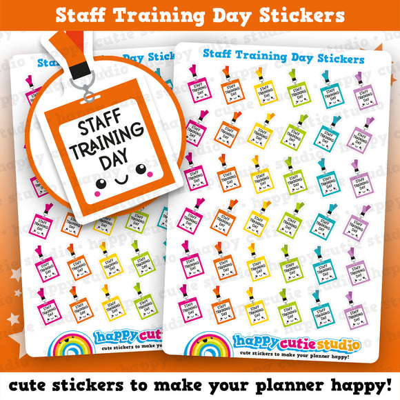 36 Cute Staff Training Planner Stickers