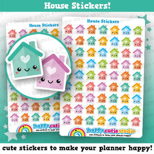 63 Cute House Planner Stickers