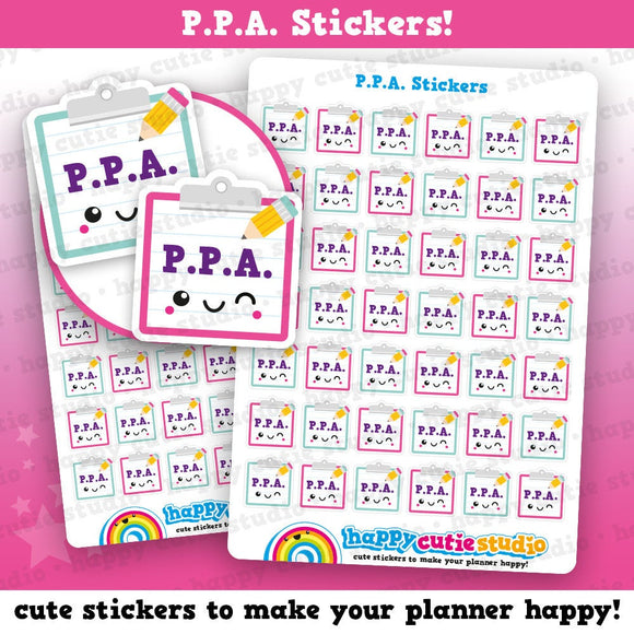 42 Cute PPA/Teacher/College/School Planner Stickers