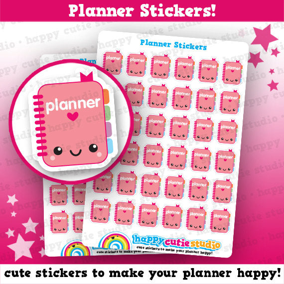 36 Cute Planner/Planning Stickers