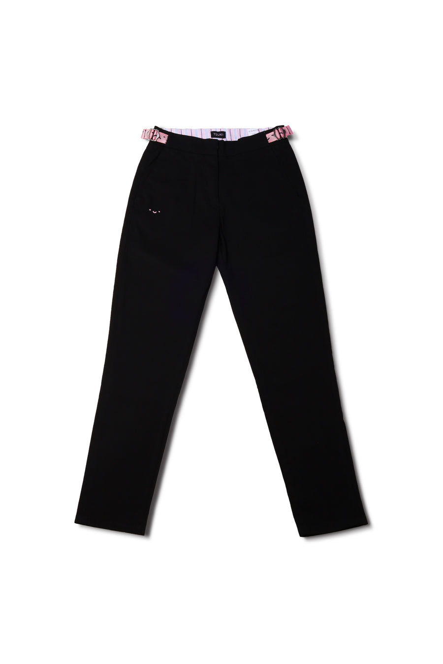 Black Moon Trousers Relaxed Fit