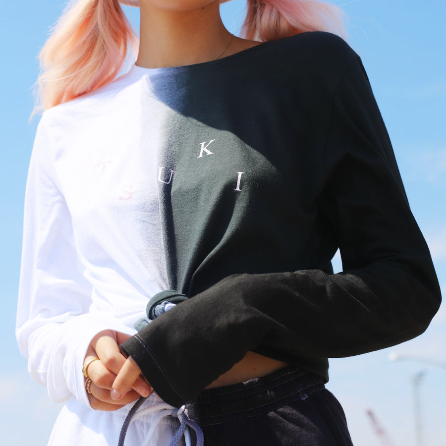 Dip Dye Long Sleeve Shirt