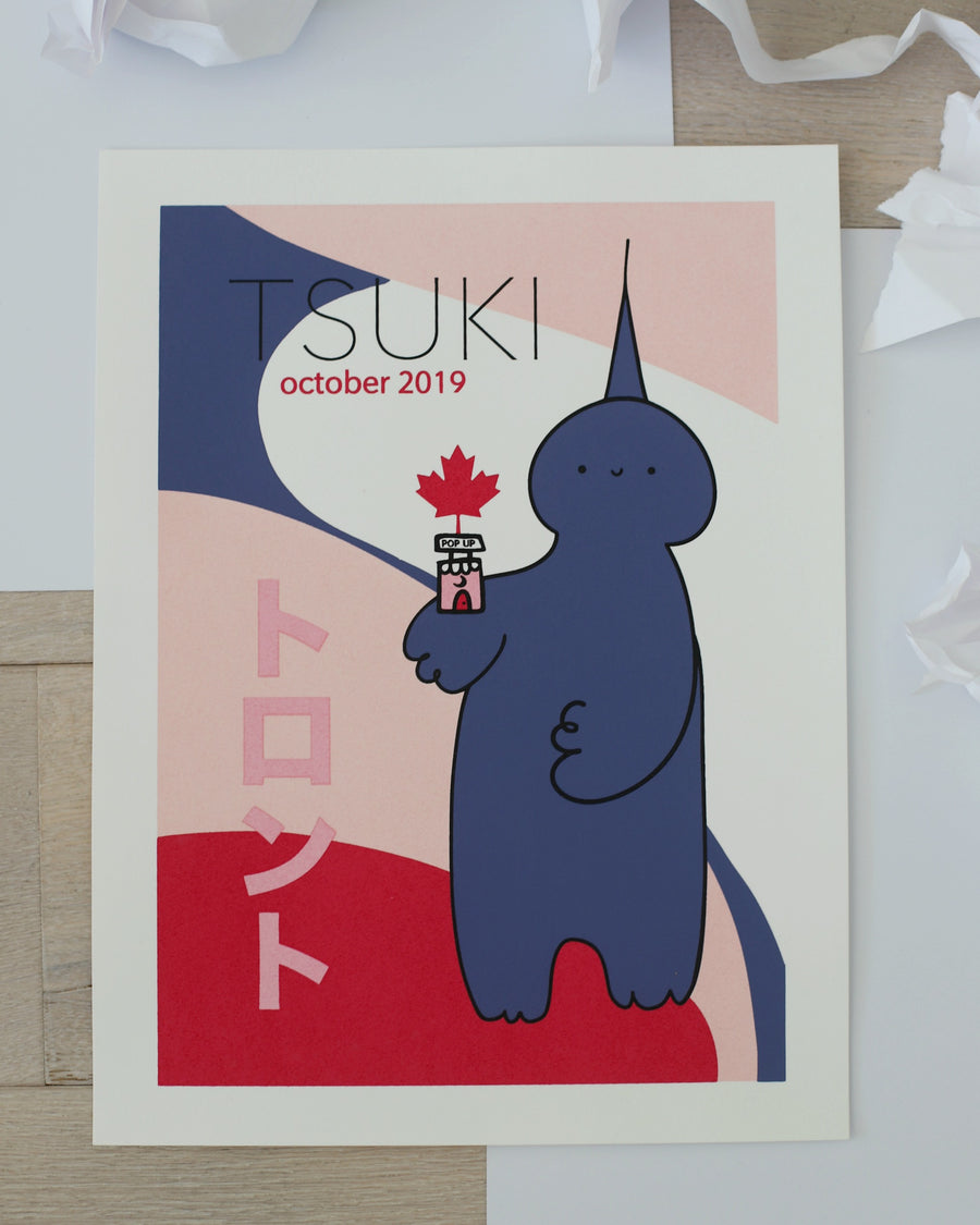 Toronto Pop Up Art Print