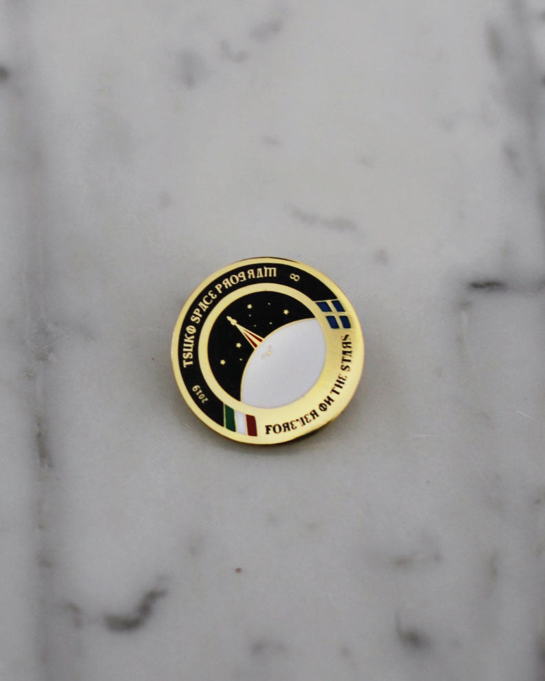 Tsuki Space Program Enamel Pin