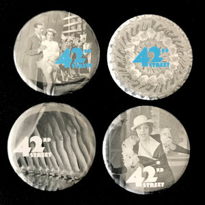 42nd Street (1933) Button Set