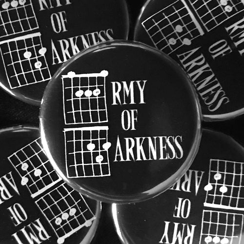 Army Of Darkness (Guitar-Horror) Button