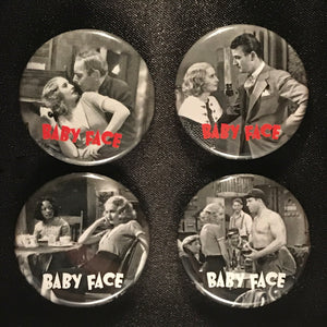 Baby Face (1933) Button Set