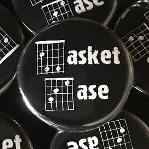 Basket Case (Guitar-Horror) Button
