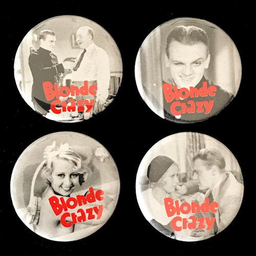 Blonde Crazy (1931) Button Set