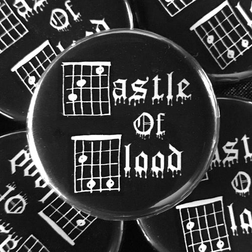 Castle Of Blood (Guitar-Horror) Button