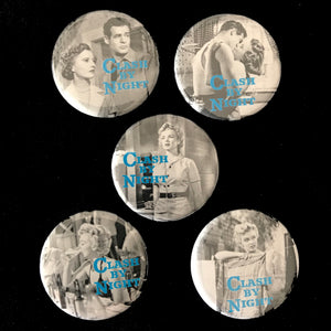 Clash By Night (1952) Button Set