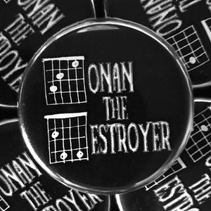 Conan The Destroyer (Guitar-Horror) Button