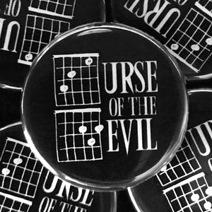 Curse Of The Devil (Guitar-Horror) Button