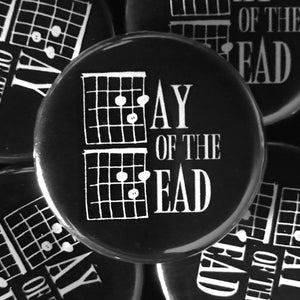 Day Of The Dead (Guitar-Horror) Button