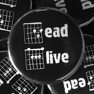 Dead Alive (Guitar-Horror) Button