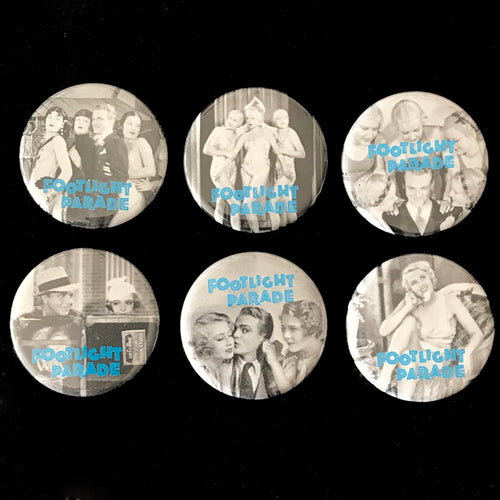 Footlight Parade (1933) Button Set