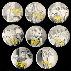 Gold Diggers Of 1933 (1933) Button Set