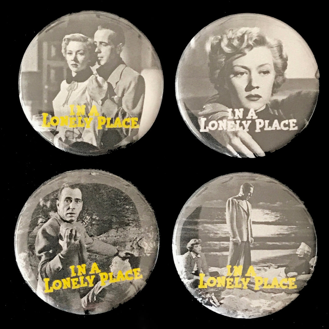 In A Lonely Place (1950) Button Set