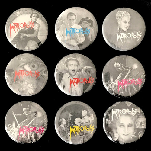 Metropolis (1927) Button Set