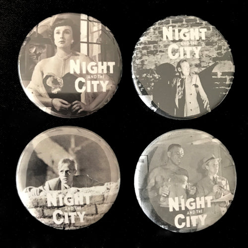Night And The City (1950) Button Set
