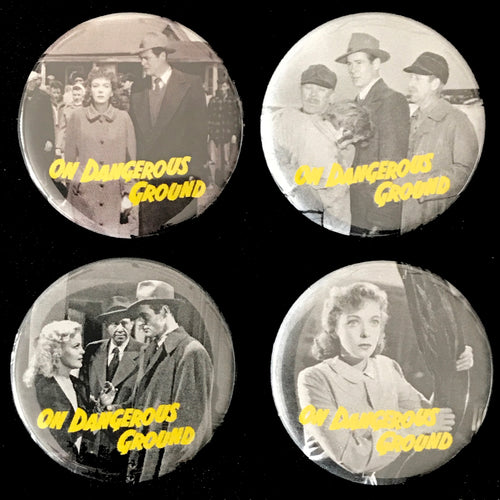On Dangerous Ground (1951) Button Set