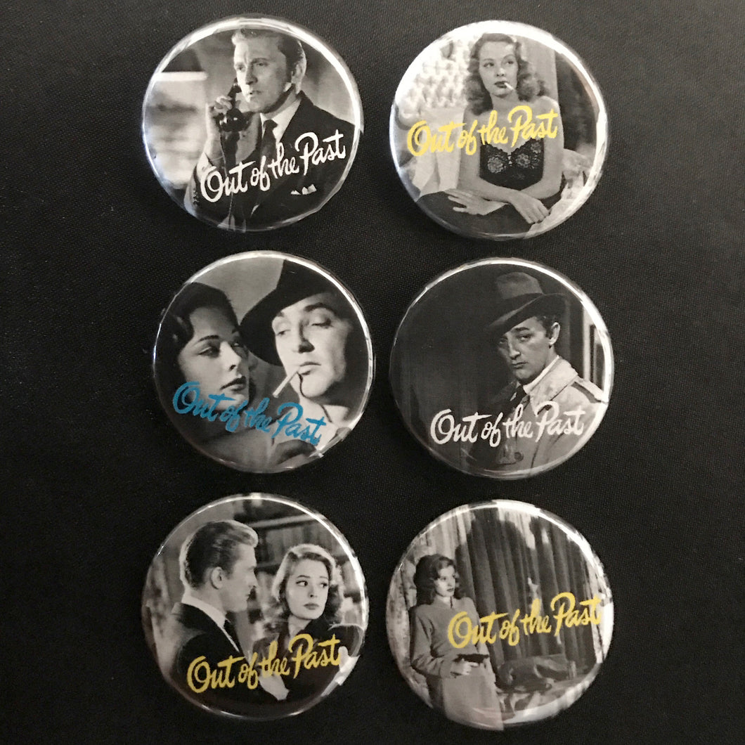 Out Of The Past (1947) Button Set