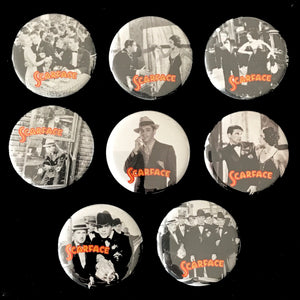 Scarface (1932) Button Set