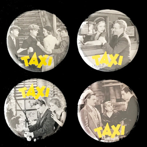Taxi! (1932) Button Set