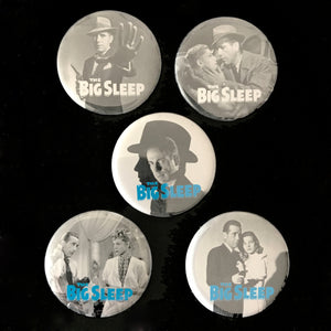 The Big Sleep (1946) Button Set