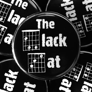 The Black Cat (Guitar-Horror) Button