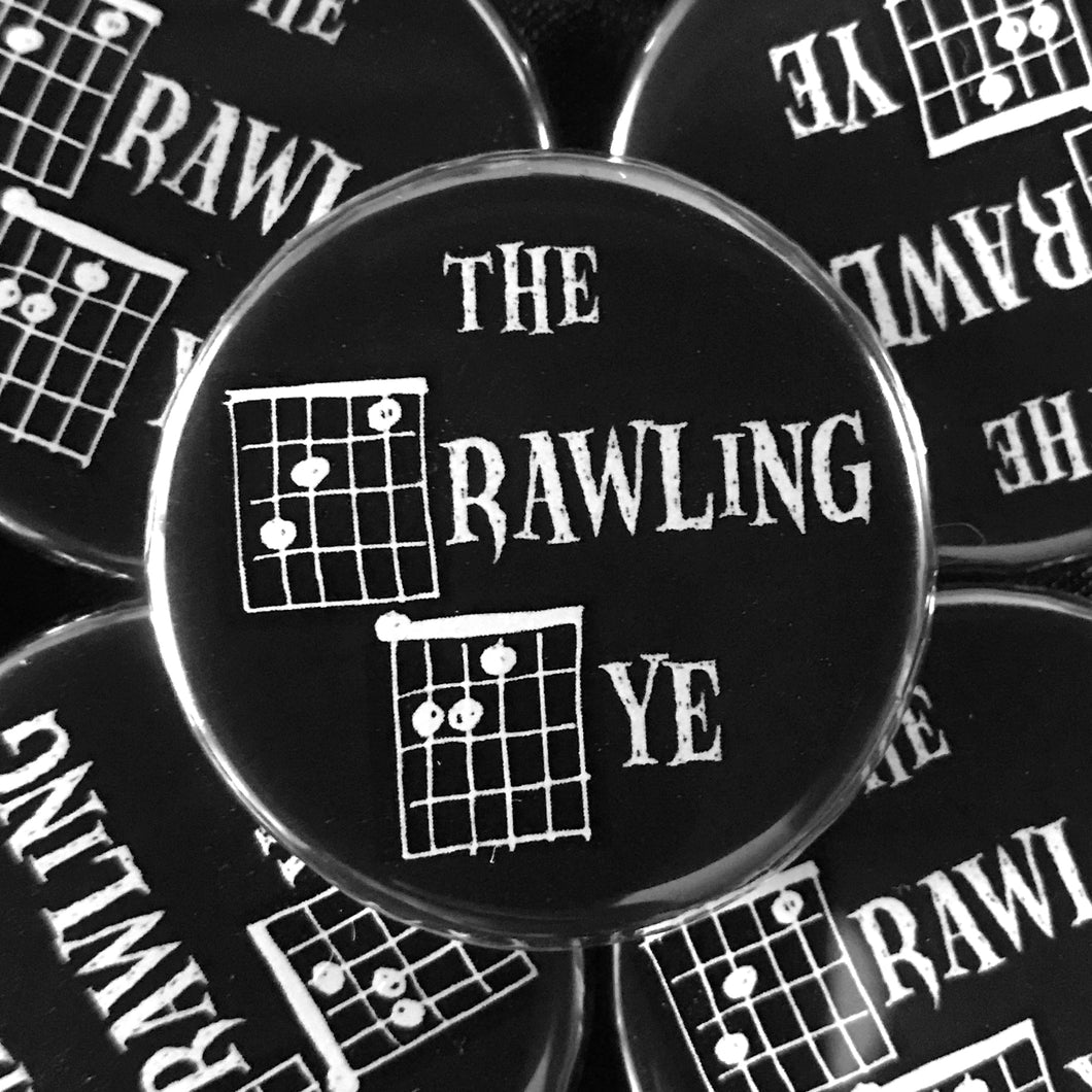 The Crawling Eye (Guitar-Horror) Button