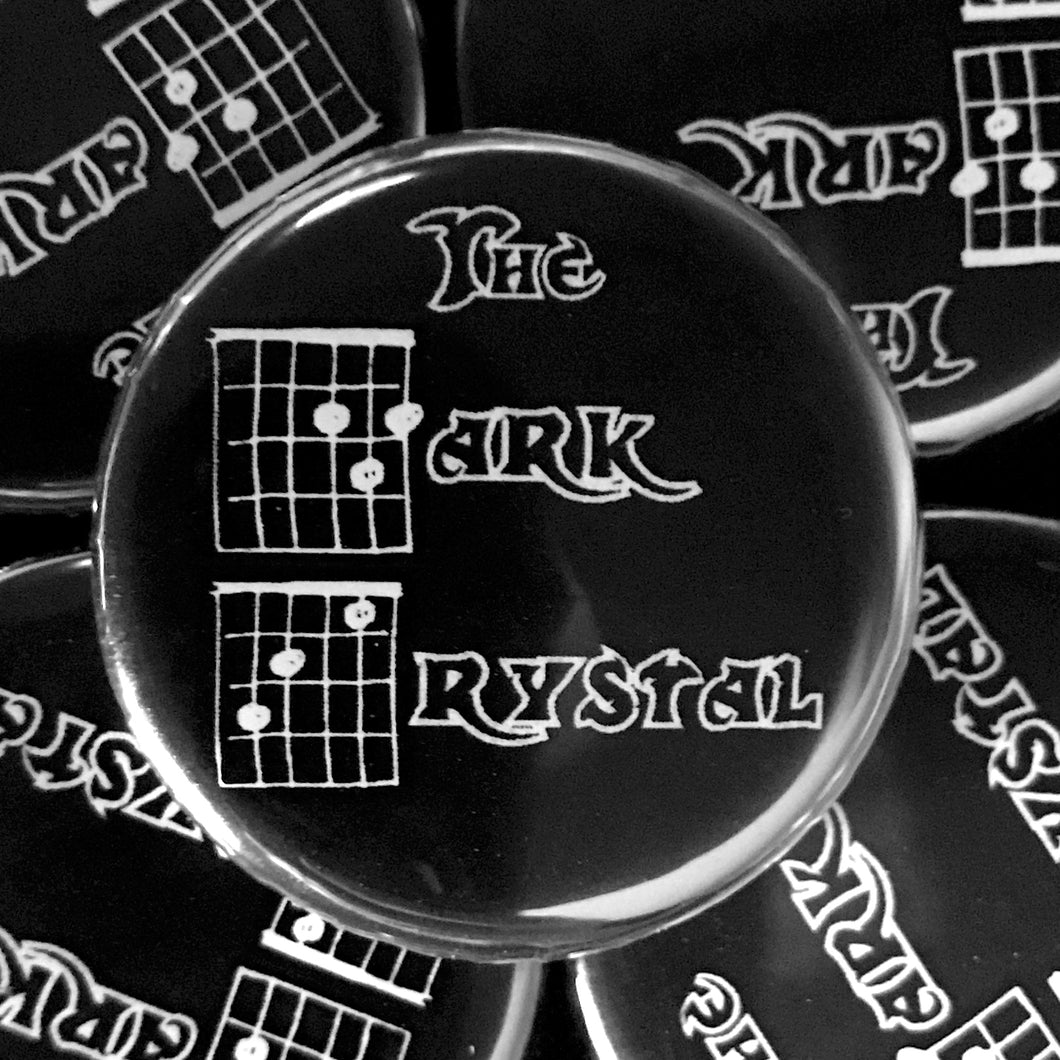The Dark Crystal (Guitar-Horror) Button
