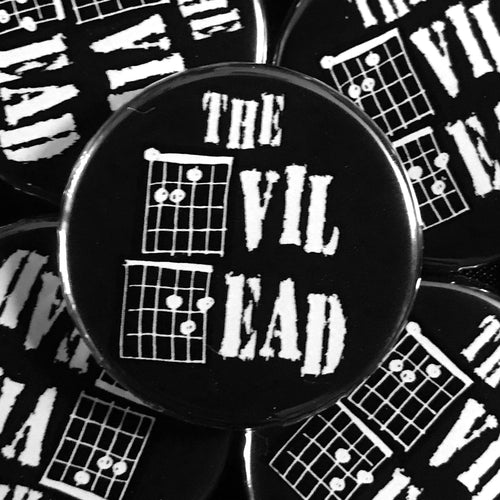The Evil Dead (Guitar-Horror) Button
