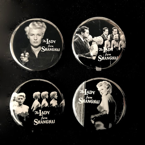 The Lady From Shanghai (1947) Button Set