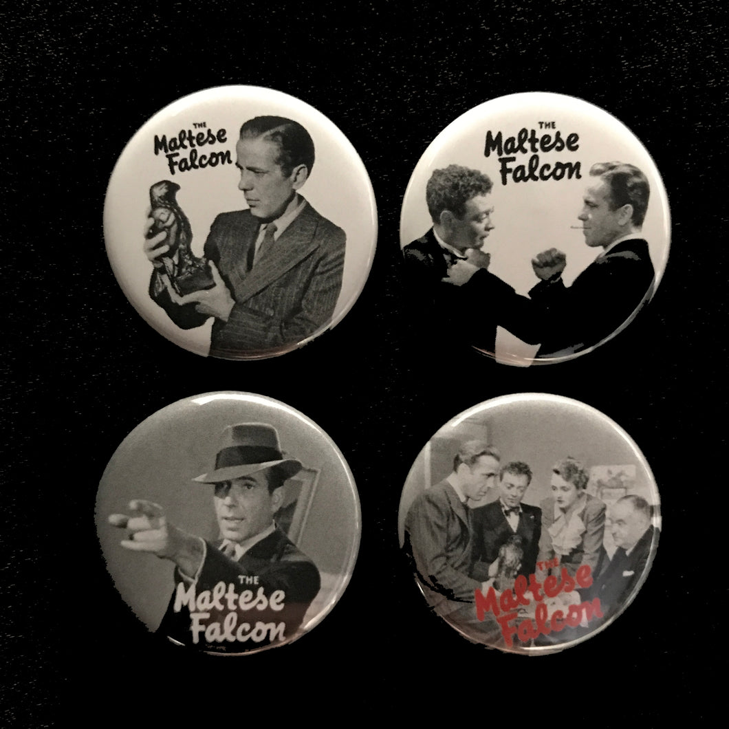The Maltese Falcon (1941) Button Set
