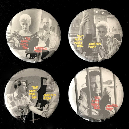 The Man With The Golden Arm (1955) Button Set